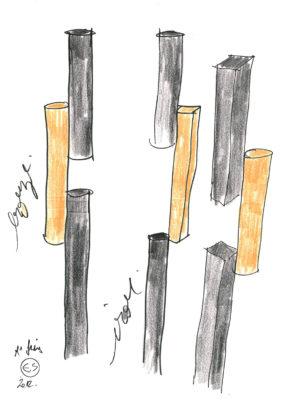 Eric Schmitt - Oeuvre - Design - Designer - Dessin n°3