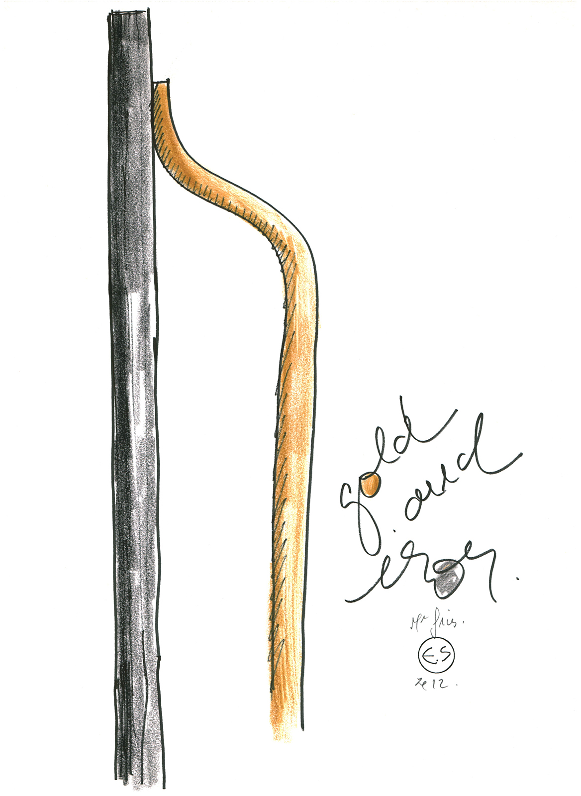 Eric Schmitt - Oeuvre - Design - Designer - Dessin n°5