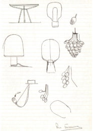 Pierre Favresse - Drawing - Work - Designer - Design - Preparatory sketch n°1