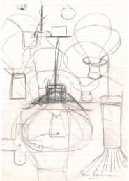 Pierre Favresse - Drawing - Work - Designer - Design - Preparatory sketch n°6