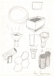 Pierre Favresse - Drawing - Work - Designer - Design - Preparatory sketch n°8