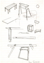 Pierre Favresse - Drawing - Work - Designer - Design - Preparatory sketch n°5