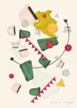 david/nicolas - Dessin - Oeuvre - Designers - Univers du restaurant Kaleo