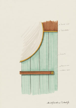 david/nicolas - designer - designers - drawing - work - sketch - Détail d'ascenseur