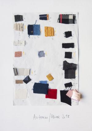 Gaspard Yurkievich - Collage n°1 de couleur Automne/ Hiver 2018
