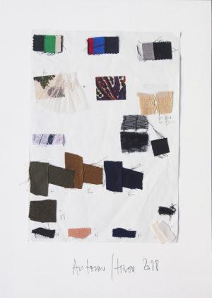 Gaspard Yurkievich - Collage n°2 de couleur Automne/ Hiver 2018