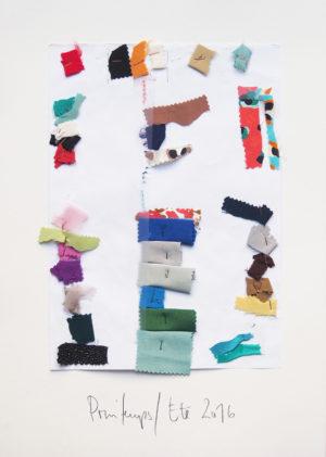 Gaspard Yurkievich - Collage de couleur Printemps/Eté 2016