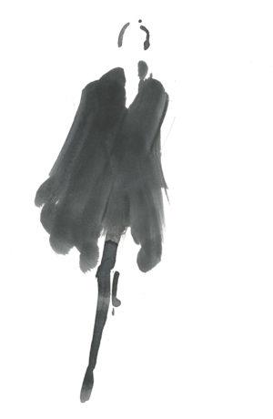 Aurore de la Morinerie - DESSIN Silhouette n°1
