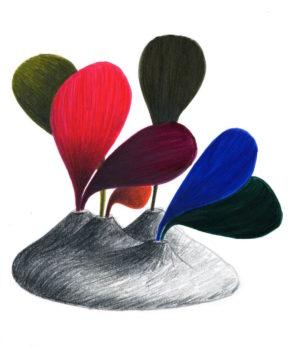 Gilles Belley - dessin Leaf #2